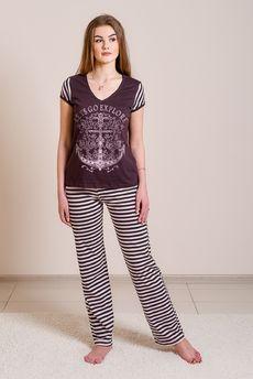 Комплект домашний: футболка и брюки FIORITA