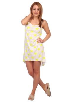 Сорочка с желтыми звездами ElenaTex