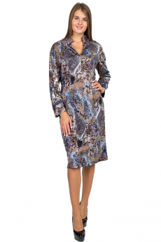 Трикотажное платье с рисунком Bast