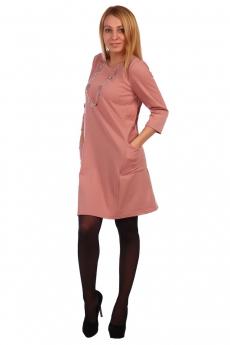Платье пудрового цвета ElenaTex